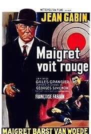 Maigret voit rouge(1963) Poster - Movie Forum, Cast, Reviews