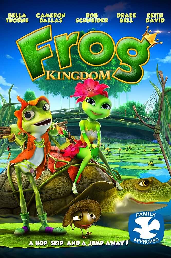 Frog Kingdom 2013 BRRip Full English Movie Download 480p 250MB