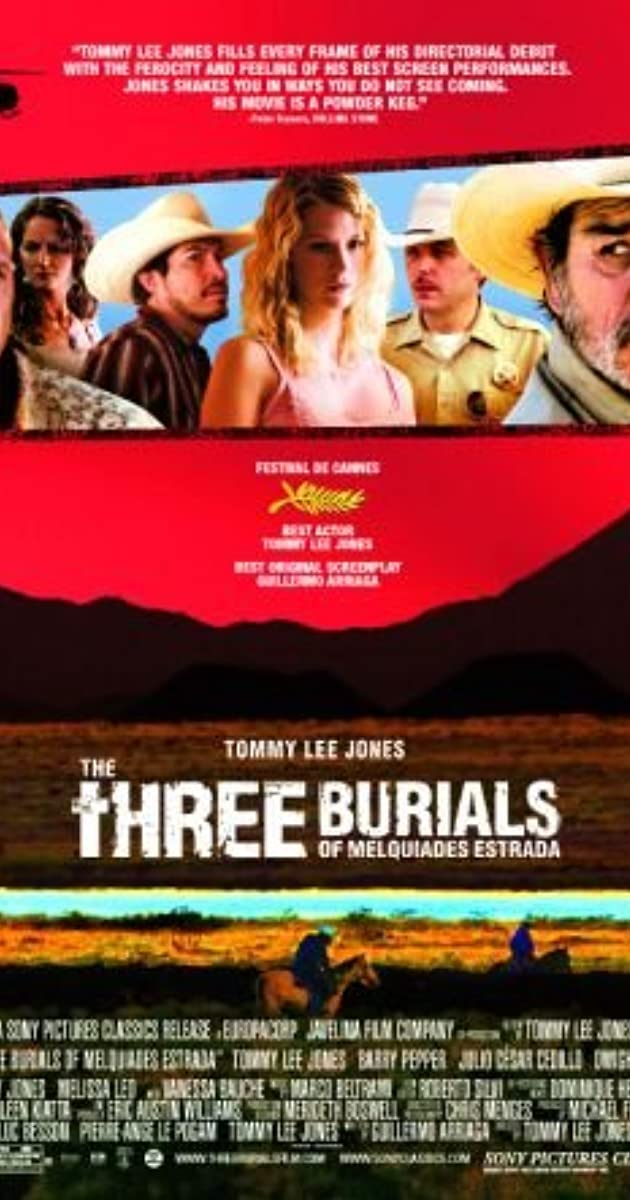 Trys Melkuadeso Estrados kapai / The Three Burials of Melquiades Estrada (2005) Online