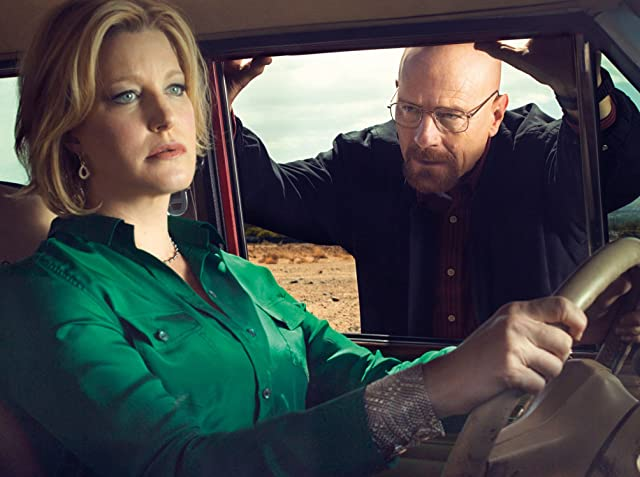 Bryan Cranston and Anna Gunn in Breaking Bad (2008)