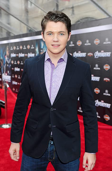 Damian McGinty at The Avengers (2012)