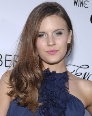 Maggie Grace at an event for Remember the Daze (2007)