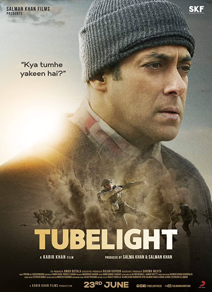 Download Tubelight (2017) 1CD DesiSCR Rip - x264 MP3 - DUS 9th Anni Exclus Torrent
