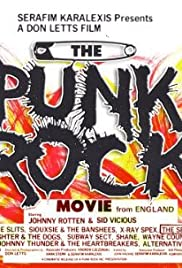 The Punk Rock Movie from England Poster