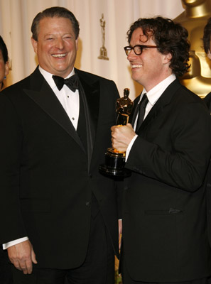 Al Gore and Davis Guggenheim at The 79th Annual Academy Awards (2007)