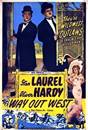 Way Out West (1937) Poster - Movie Forum, Cast, Reviews