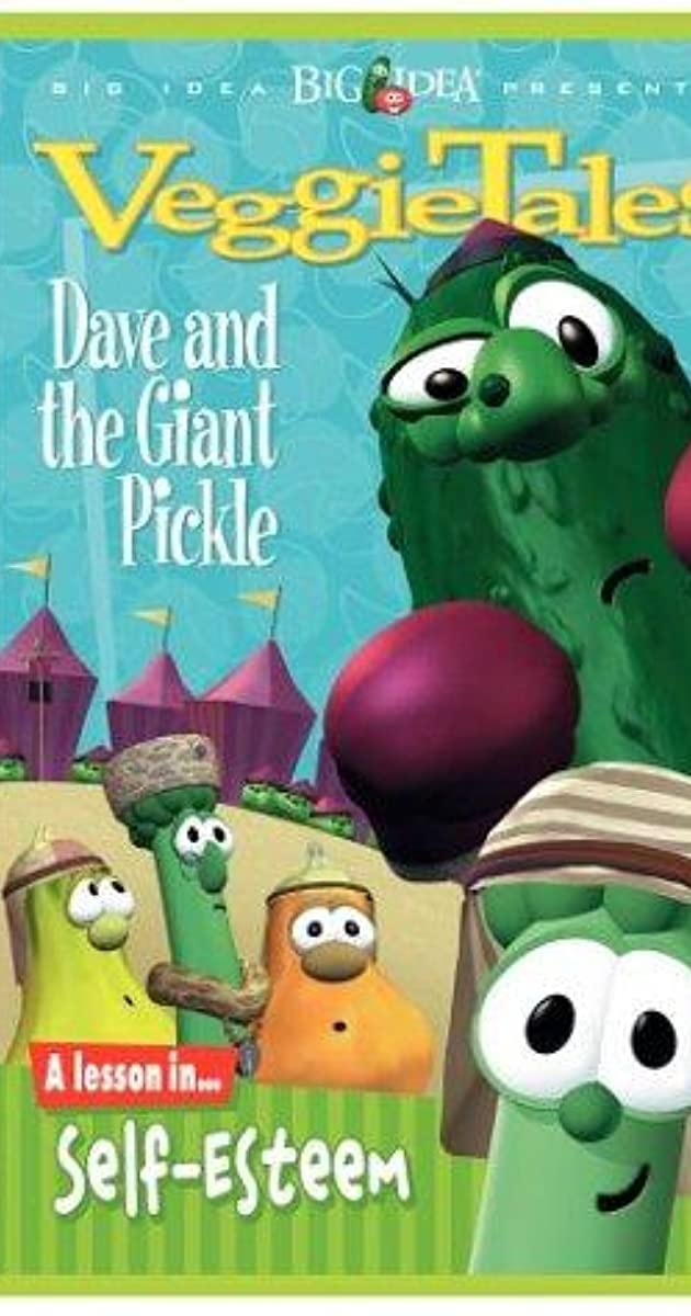 veggietales dave and the giant pickle video 1996 imdb