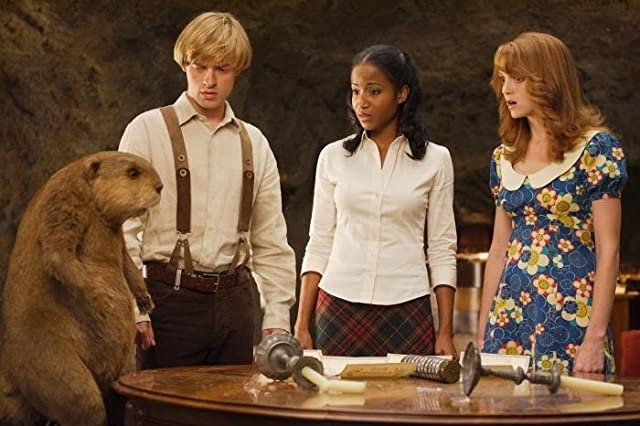 Faune Chambers Watkins, Adam Campbell, and Jayma Mays in Epic Movie (2007)