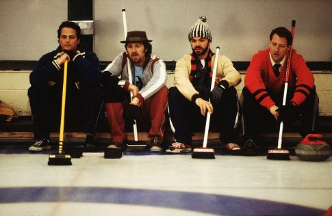 Paul Gross, Peter Outerbridge, Jed Rees, James Allodi in MEN WITH BROOMS