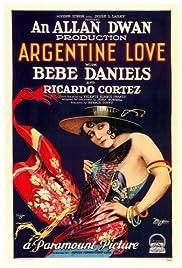 Argentine Love Poster