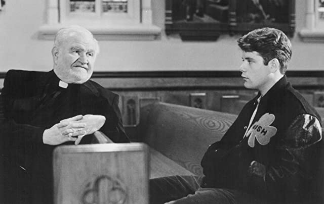 Sean Astin and Robert Prosky in Rudy (1993)