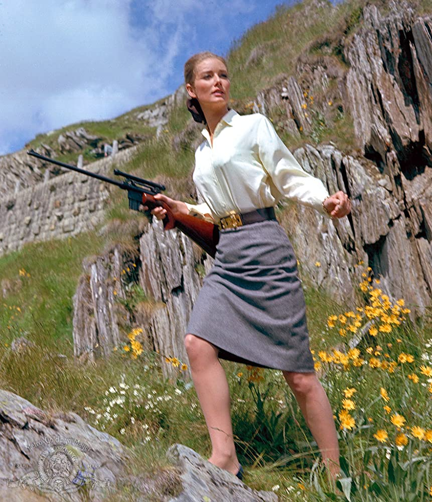 Tania Mallet as Tilly Masterson in Goldfinger (1964)