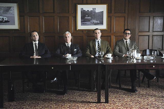 Vincent Kartheiser, John Slattery, Rich Sommer, and Aaron Staton in Mad Men (2007)