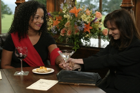 Lesley Ann Warren and Rae Dawn Chong in Constellation (2005)