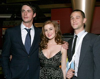 Isla Fisher, Matthew Goode, and Joseph Gordon-Levitt at The Lookout (2007)