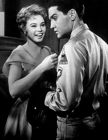 Elvis Presley and Juliet Prowse in