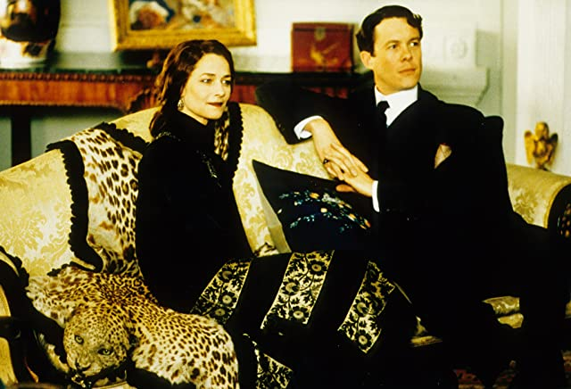 Charlotte Rampling and Alex Jennings in The Wings of the Dove (1997)