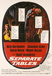 Separate Tables (1958) Poster - Movie Forum, Cast, Reviews