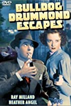 Image of Bulldog Drummond Escapes