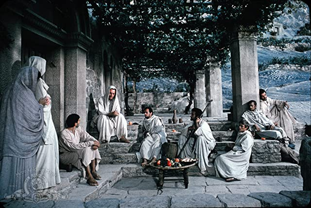 Max von Sydow, John Considine, and Tom Reese in The Greatest Story Ever Told (1965)