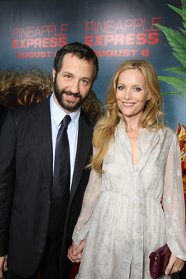 Leslie Mann and Judd Apatow at Pineapple Express (2008)