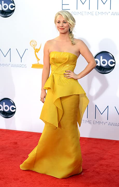 Kaley Cuoco at The 64th Primetime Emmy Awards (2012)
