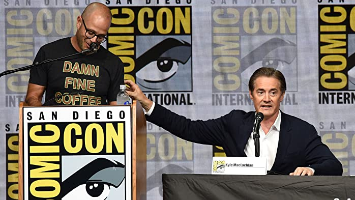 Kyle MacLachlan and Damon Lindelof