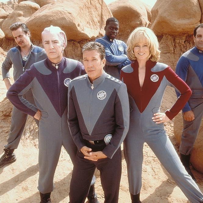 Sigourney Weaver, Alan Rickman, Tim Allen, Tony Shalhoub, Sam Rockwell y Daryl Mitchell en Galaxy Quest (1999)