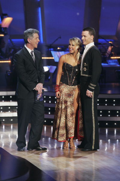 Tom Bergeron, Ty Murray, and Chelsie Hightower in Dancing with the Stars (2005)