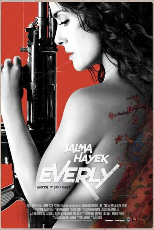 Poster Everly (2014) Full HD Movie Download Dual Audio In Hindi Dubbed 720p