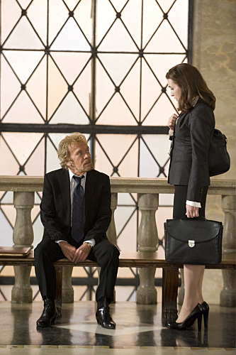 Julianna Margulies and Kevin Conway in The Good Wife (2009)