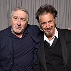 Robert De Niro and Al Pacino at an event for The Godfather (1972)