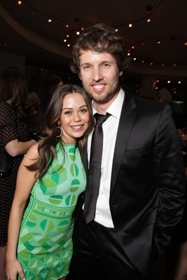 Alexis Dziena and Jon Heder at When in Rome (2010)