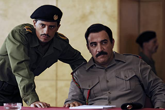 Igal Naor and Saïd Taghmaoui in House of Saddam (2008)