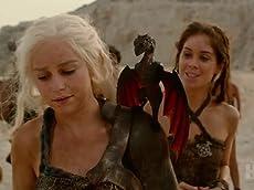 Daenerys with Her Dragon