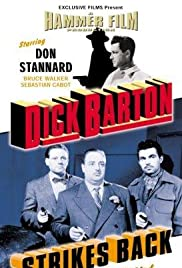 Dick Barton Strikes Back Poster