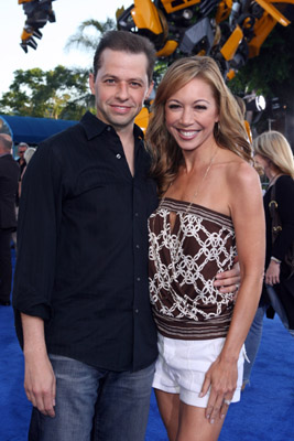 Jon Cryer and Lisa Joyner at Transformers (2007)
