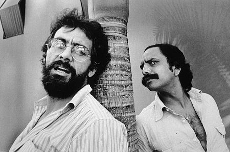 Cheech Marin and Tommy Chong, 1978. Vintage silver gelatin, 9x13.5, mounted on 16x20 archival board, signed. $900 © 1978 Ulvis Alberts MPTV