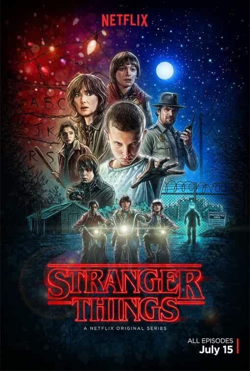 Stranger Things 2016 Hindi Dubbed 480p WEBRip 150MB