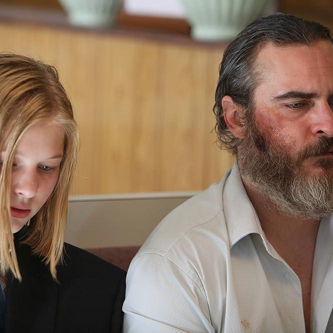 Joaquin Phoenix and Ekaterina Samsonov in A Beautiful Day (2017)