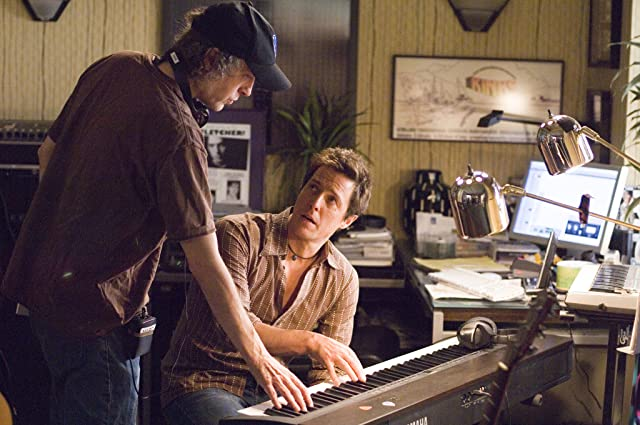 Hugh Grant and Marc Lawrence in Music and Lyrics (2007)