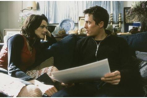 Hugh Grant and Rachel Weisz in About a Boy (2002)