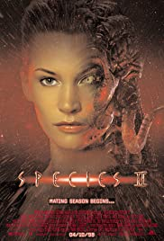 Species II (1998) Poster - Movie Forum, Cast, Reviews