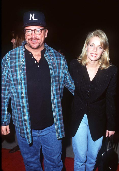 Tom Arnold and Julie Armstrong at an event for From Dusk Till Dawn (1996)
