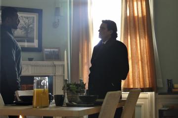 Ian McShane and Eamonn Walker in Kings (2009)