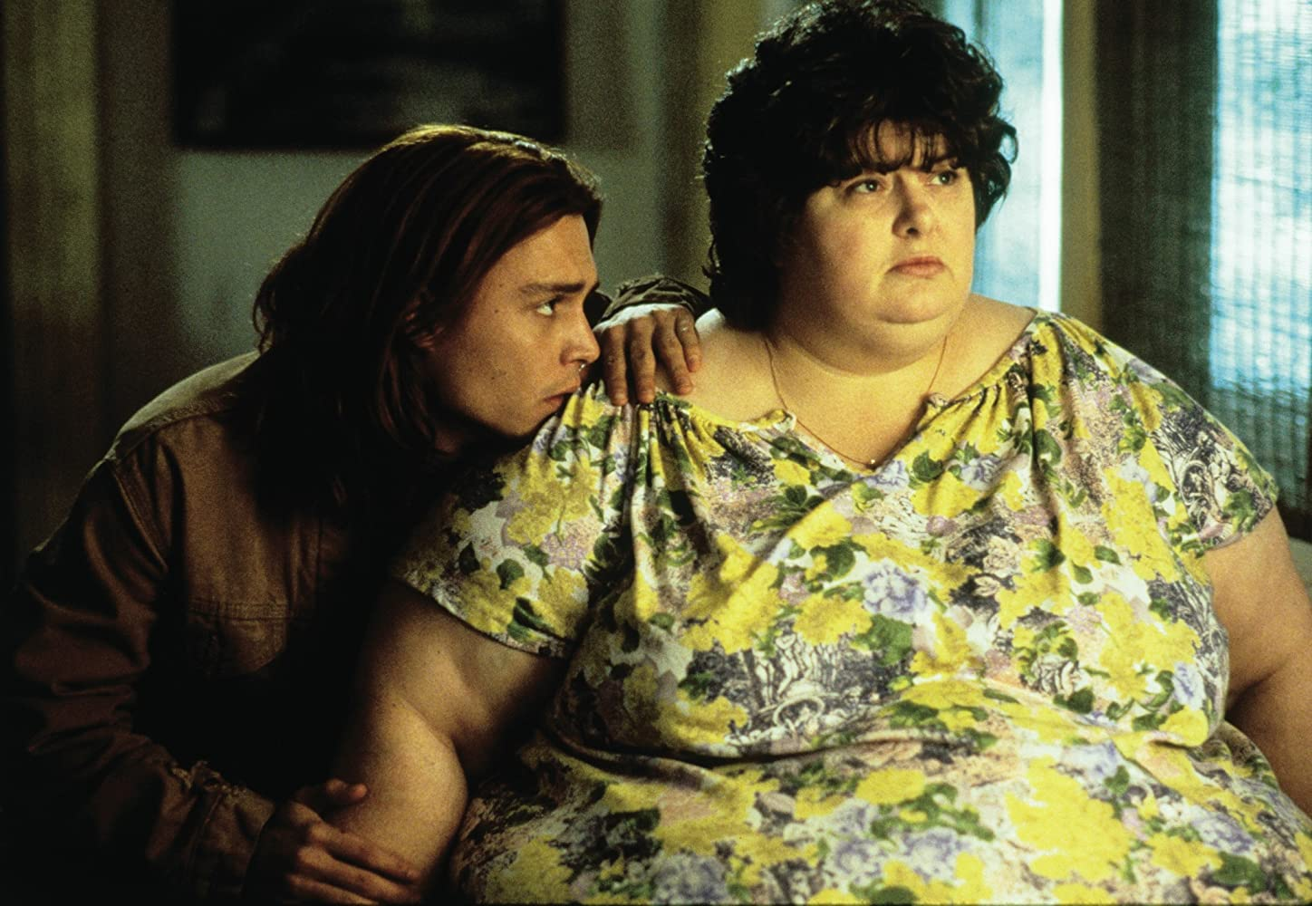 Risultati immagini per what eating gilbert grape