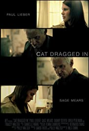 Cat Dragged In Poster