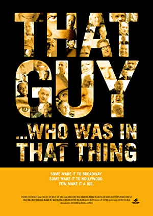 That Guy … Who Was in That Thing 1 (2012)
