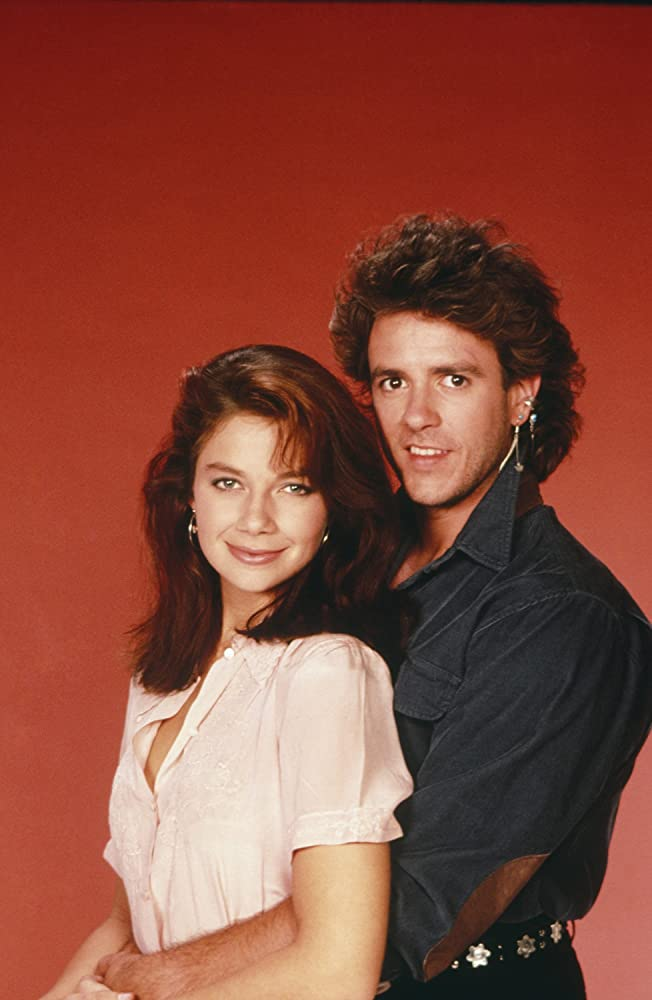 Justine Bateman And Scott Valentine In Family Ties (1982)