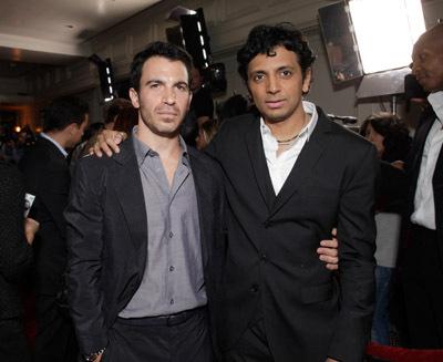 Chris Messina and M. Night Shyamalan at Devil (2010)